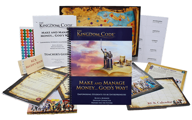 complete starter kit- the kingdom code- money management- kid- entrepreneur- map