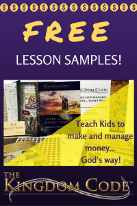 Free samples of The Kingdom Code Curriculum